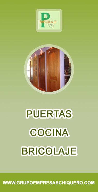 Puertas - Cocina - Bricolaje - GRUPO EMPRESAS CHIQUERO